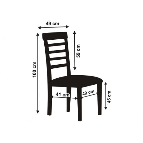 Housse de chaise en tissu rigide