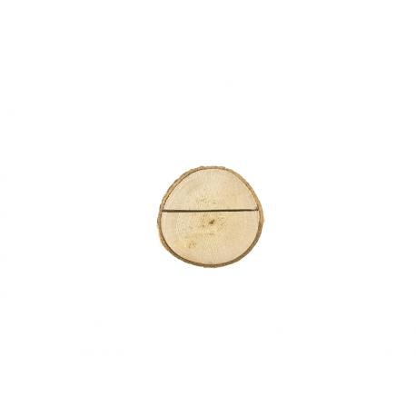 10x Porte nom Rondin de bois