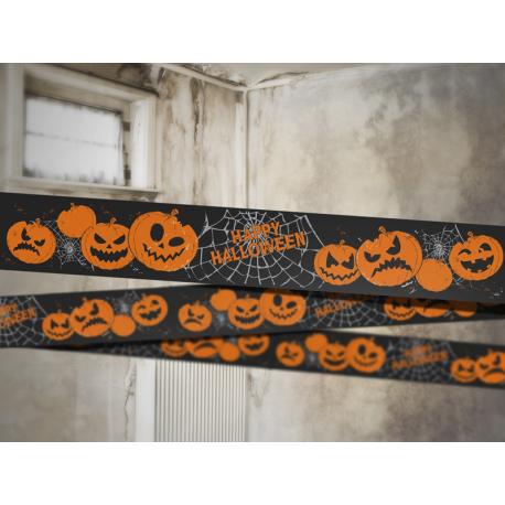 """Guirlande """"Happy Halloween"""", 10 cm x 6 m"""