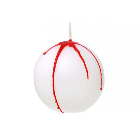 Bougie halloween - boule grenade